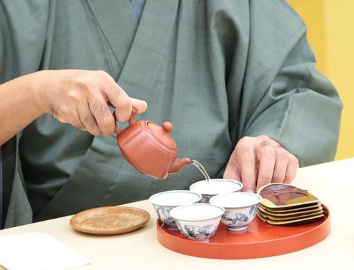奥野講座「新茶とお菓子」