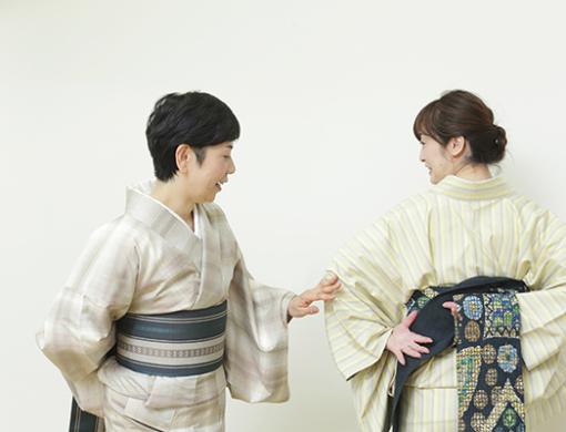 帯結びワンコインレッスン~京都・玄想庵~