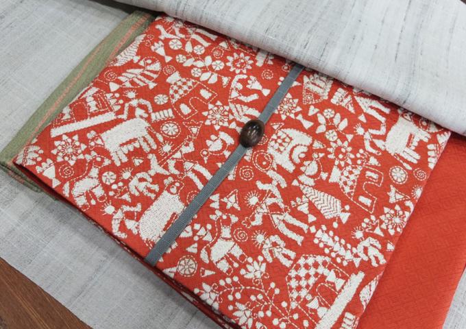 インド刺繍の可愛い帯