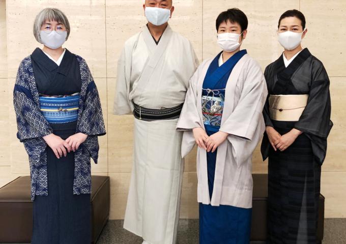 講師会_課外研修「東博 特別展 きもの」