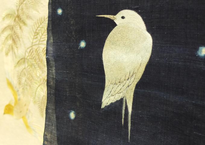 刺繍作家_飯島桃子「糸で描く」4日目