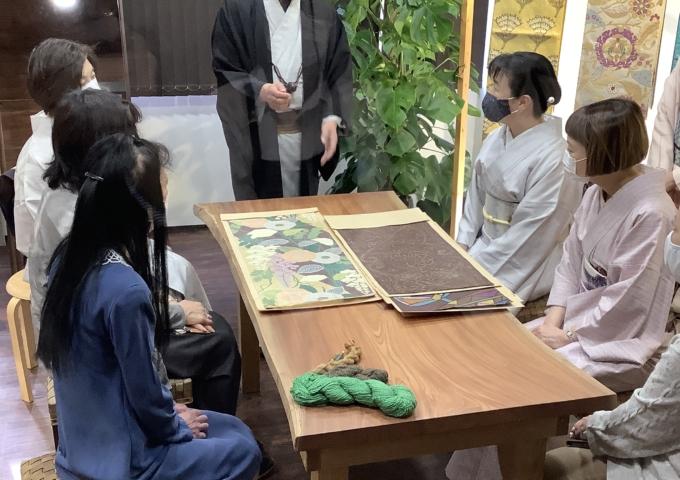 帯屋捨松・木村社長トークショー